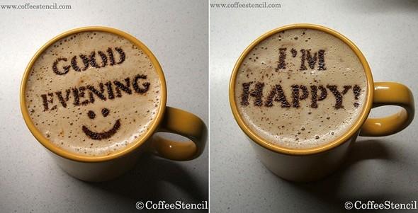 Coffeestencil. Изображение № 1.