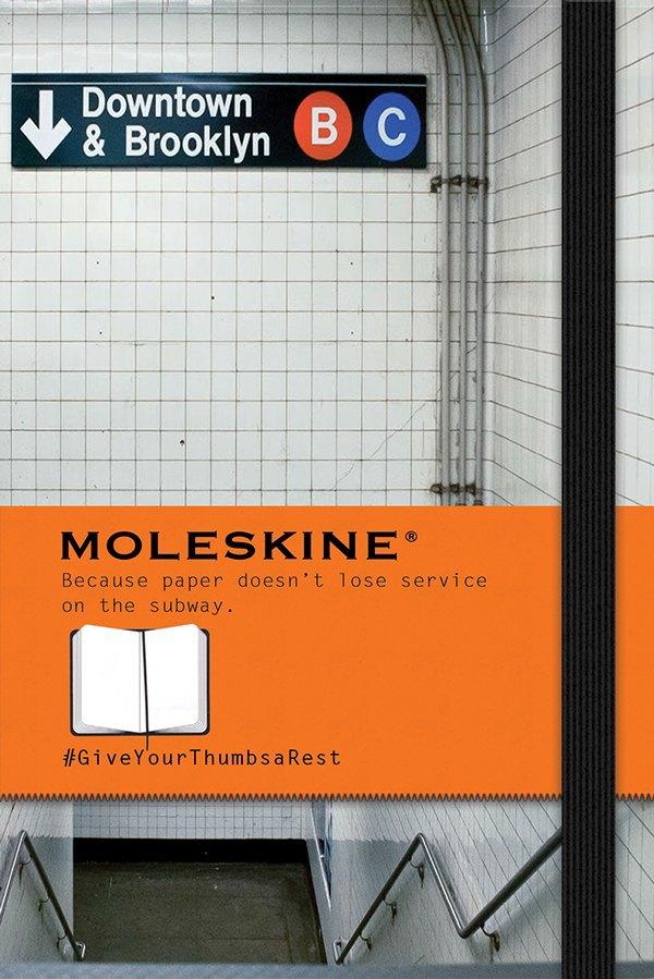 «Бумага не теряет мобильную связь в метро». Изображение № 1.
