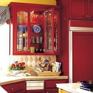 Изображение 12. Модный красный или яркое решение для кухни.. Изображение № 3.