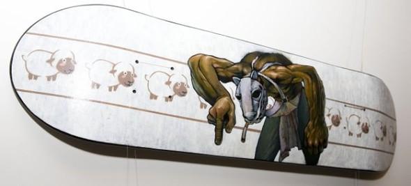 Skate restructurations или о самой большой выставки скейтов в России. Изображение № 35.