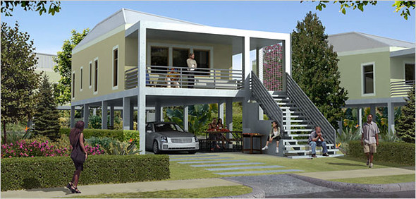 Архитектурный проект Брэда Питта. Изображение № 14.