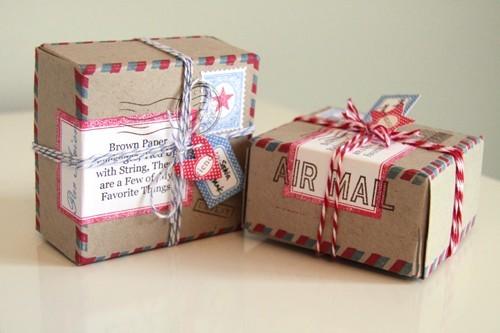 55 идей для упаковки новогодних подарков. Изображение № 125.