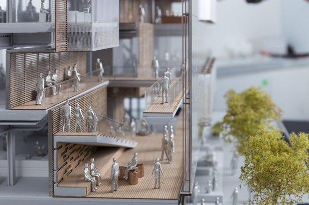 Uber представил проект будущей штаб-квартиры в Сан-Франциско. Изображение № 7.