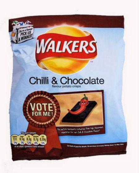 Несъедобное съедобно - какие бывают чипсы. Изображение № 55.