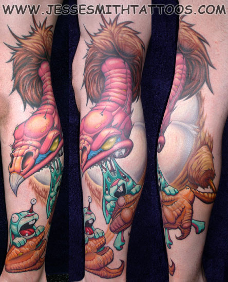 Jesse Smith Tattoo. Изображение № 11.