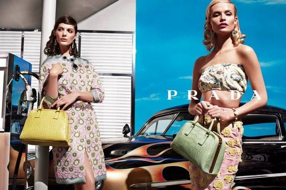 Кампания: Prada SS 2012. Изображение № 7.