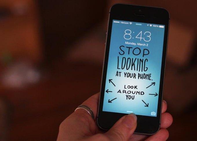 Концепт: как отучиться постоянно смотреть в смартфон . Изображение № 4.