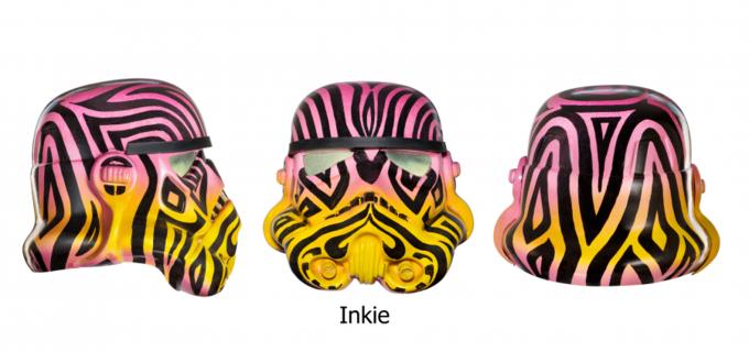 Современные художники переосмыслили шлем штурмовика. Изображение № 6.