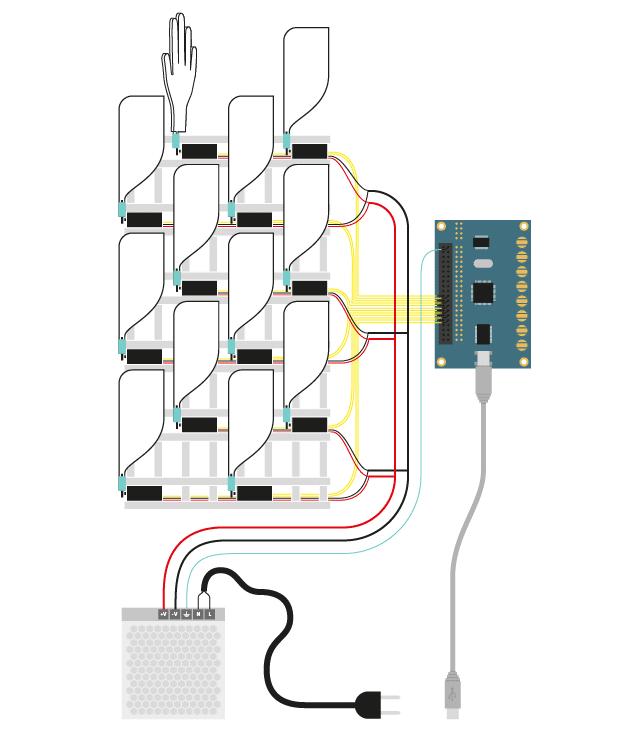 Как сделать кинетический объект из бумаги, палочек и мотора. Изображение № 17.