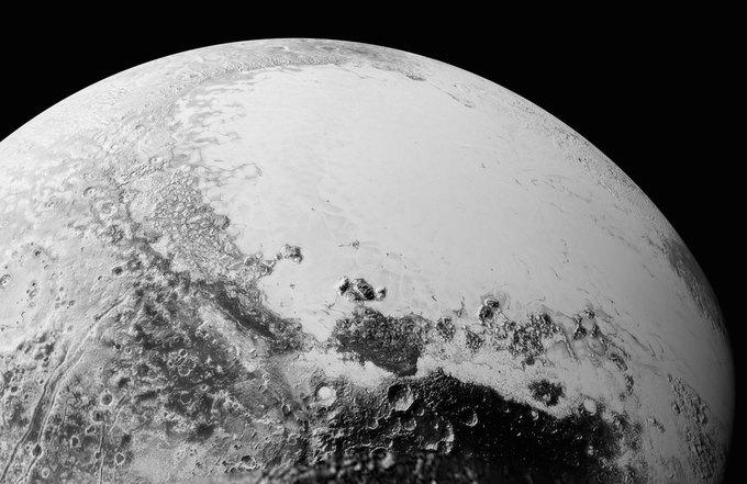 New Horizons передал новые фото Плутона . Изображение № 1.