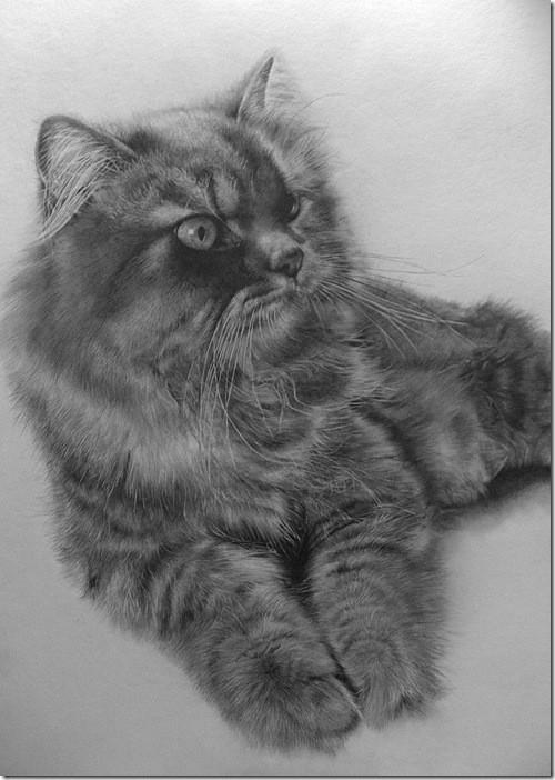 Рисунки простым карандашом от Paul Lung. Изображение № 2.