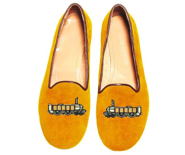 Mario Molinaro - обувь с вышивкой. Изображение № 11.