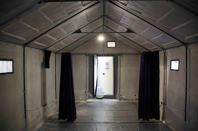 IKEA спроектировала дома на солнечных батареях для беженцев  . Изображение № 4.