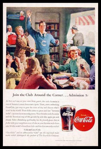 Изображение 32. Coca-cola – История бренда, история рекламы.. Изображение № 32.