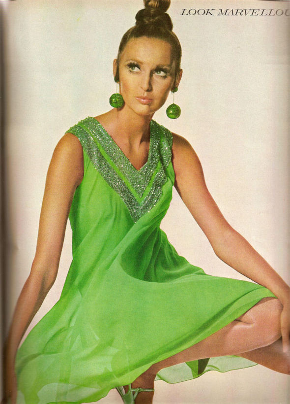 «Выгляди великолепно» каквVogue 1967 года. Изображение № 4.