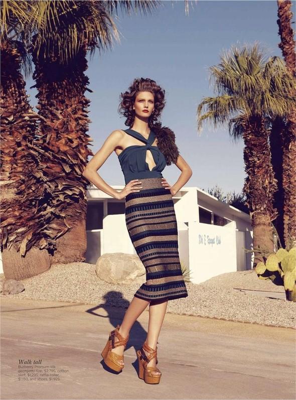 Съёмка: Марло Хорст и Кендра Спирс для австралийского Vogue. Изображение № 17.