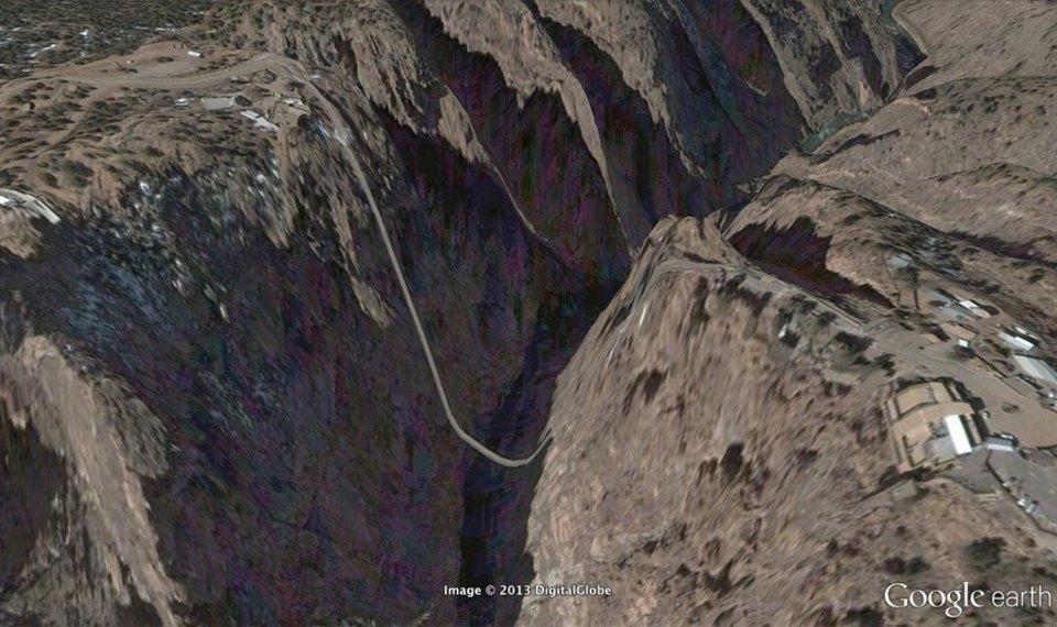 32 фотографии из Google Earth, противоречащие здравому смыслу. Изображение № 17.
