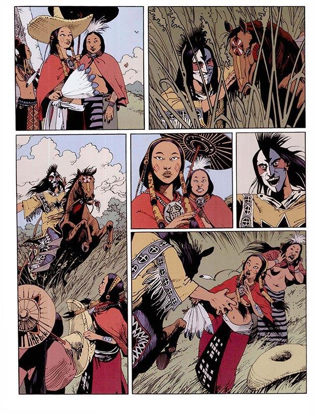 Автор комикса Undertow о любимых русских художниках. Изображение № 9.
