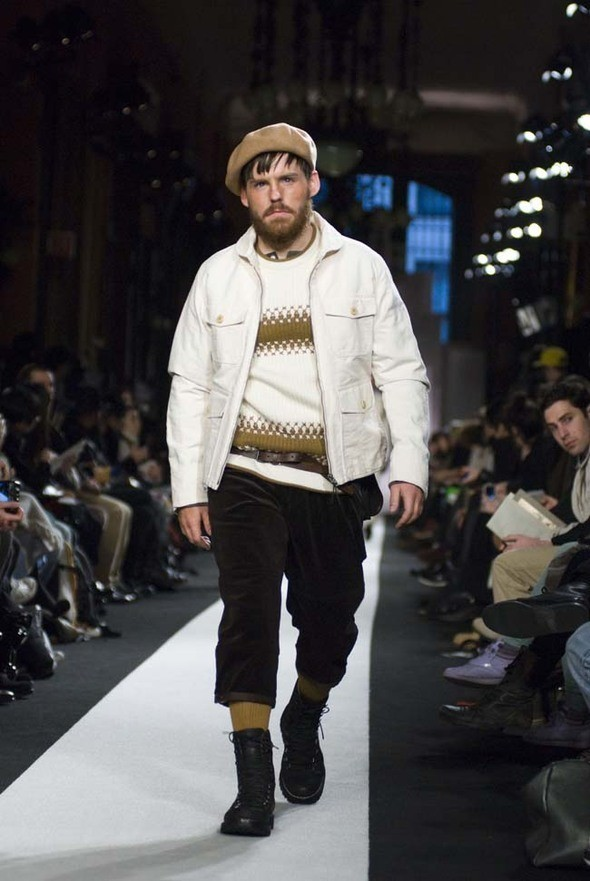 """Изображение 2. N. Hoolywood """"Half Dome"""" коллекция Осень/Зима 2011.. Изображение № 2."""