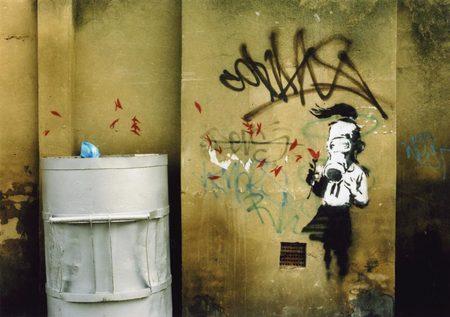 Изображение 2. Арт-терроризм Banksy.. Изображение №2.