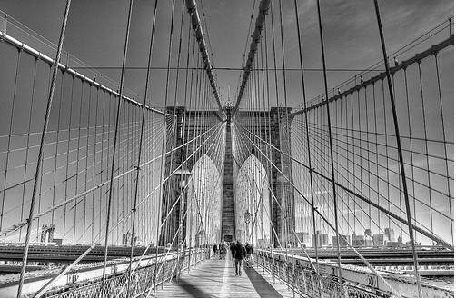 20 черно-белых фотографий мостов совсего мира. Изображение № 17.