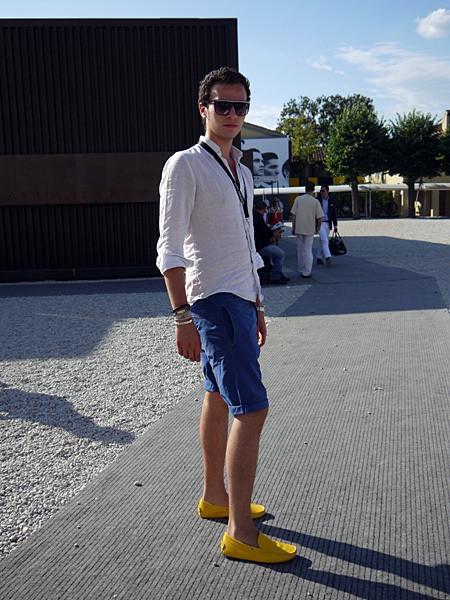 Изображение 17. Pitti Uomo, часть 1: дизайнерские павильоны и красиво одетые мужчины.. Изображение № 23.