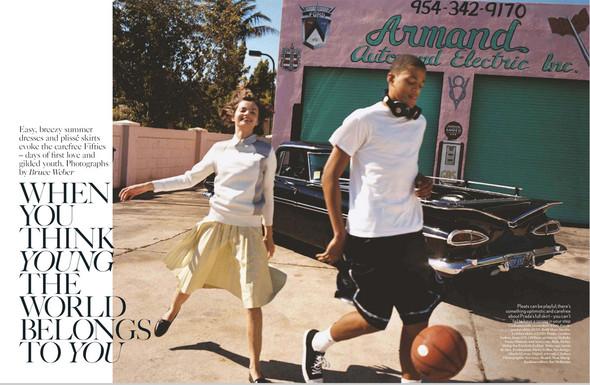 Съёмки: Harper's Bazaar, Interview, Vogue и другие. Изображение № 10.
