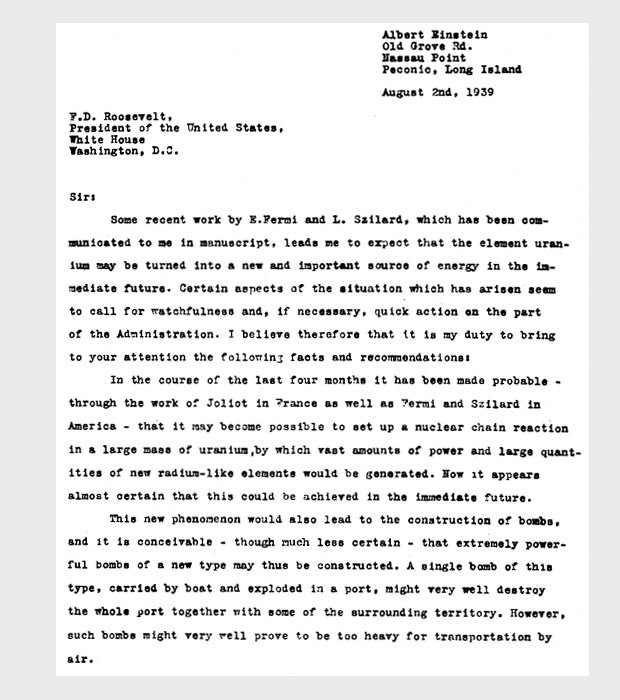 einsteins letter essay How a letter from einstein saved a scientist from nazi germany his essays and reviews have appeared in numerous publications worldwide.