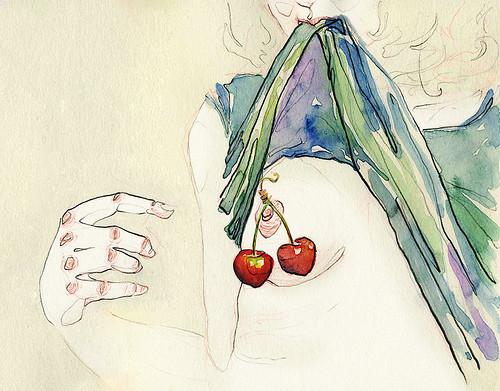 Чувства; карандашом и акварелью. Изображение № 7.
