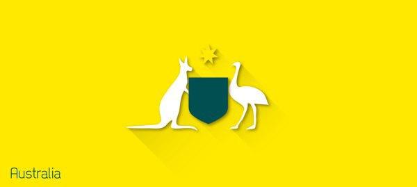 Представлены «плоские» версии гербов национальных сборных . Изображение № 32.