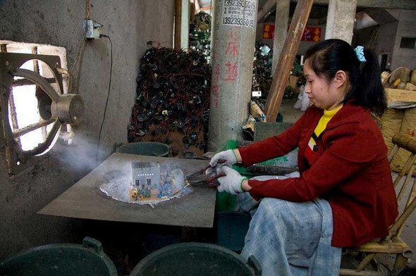 Китай - большая мировая электро-свалка. Изображение № 5.