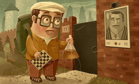 Красивые иллюстрации Андрея Гордеева. Изображение № 20.