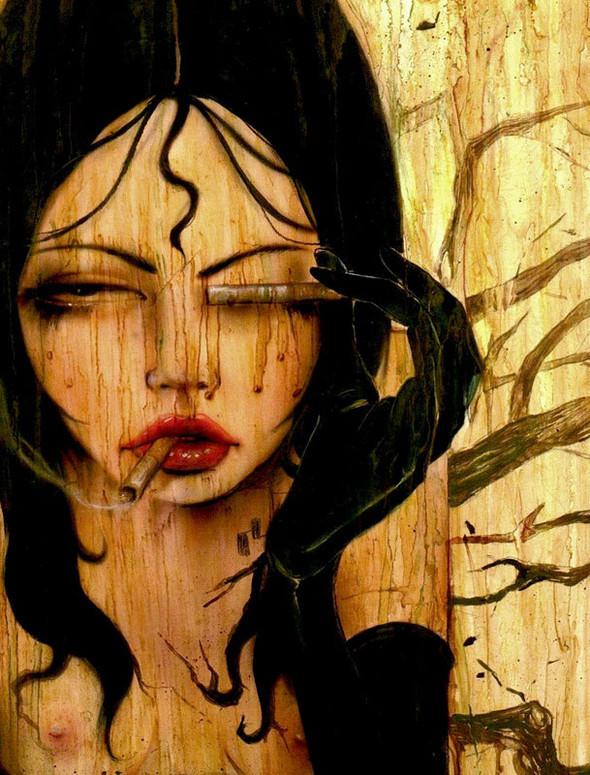 Brian M. Viveros - Американский художник. Изображение № 20.