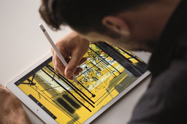 Apple сделала стилус и клавиатуру для iPad Pro. Изображение № 1.