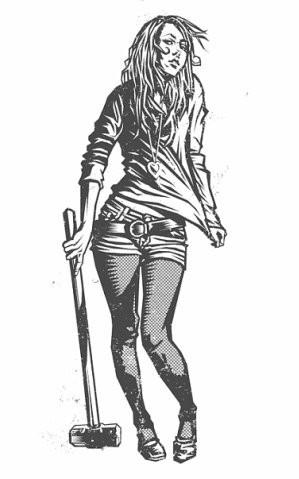 Девушки с оружием от Frank Barbara. Изображение № 25.