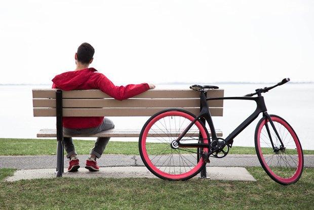 Умный велосипед дает советы и собирает информацию о поездке. Изображение № 1.
