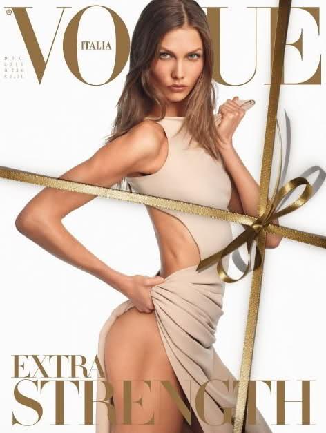 Обложки Vogue: Италия, Испания и Бразилия. Изображение № 3.