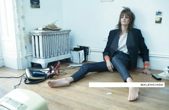 Кампания: Стивен Майзел для Balenciaga SS 2012. Изображение № 3.