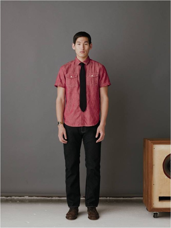 Lookbook: Levi's Red Tab Men FW'12. Изображение № 7.