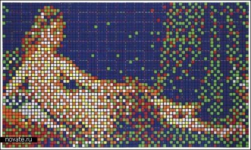 Картины изКубика Рубика. Изображение № 7.