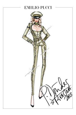 Emilio Pucci создали костюмы для тура Риты Оры. Изображение № 4.