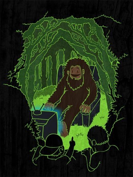 TheWandering Bert Collective новозеландский юмор. Изображение № 16.