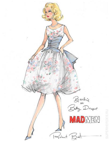 Куклы Барби по сериалу Mad Men. Изображение № 3.