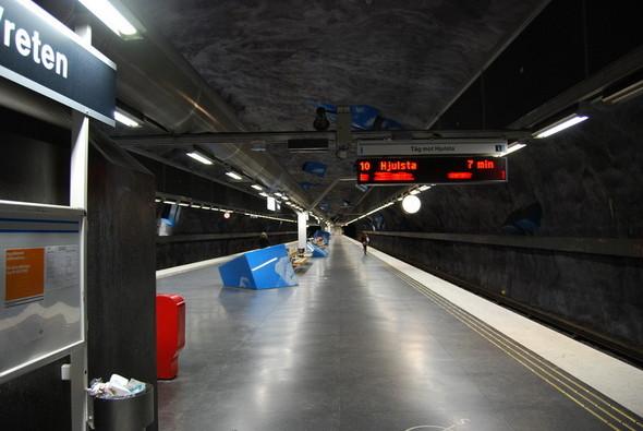Шведский метрополитен. Изображение № 14.