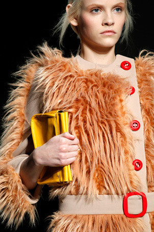 Меховое пальто Prada FW 2011. Изображение № 5.