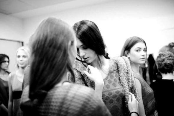 BACKSTAGE: Liudmila Norsoyan весна-лето 2012. Изображение № 9.