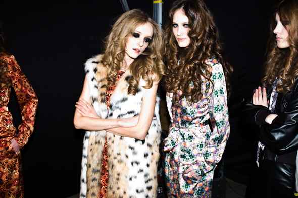 BACKSTAGE Masha Tsigal A/W 13 / foto by Ross Laurence. Изображение № 27.