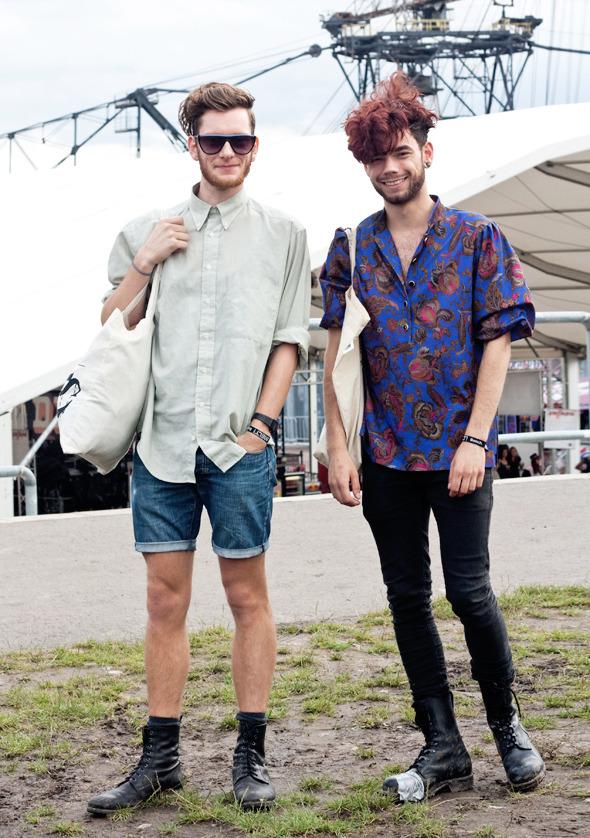Золотые шорты, джинсовые рубашки и шляпы: Люди на фестивале MELT!. Изображение №19.