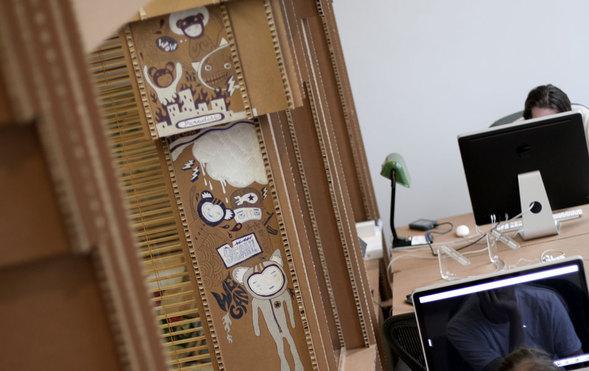 Картонный офис. Изображение № 19.