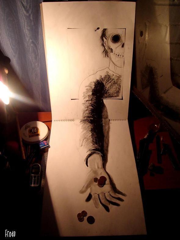 """Изображение 22. Реалистичные 3D рисунки """"в карандаше"""".. Изображение № 22."""